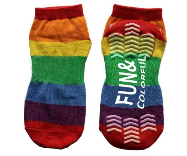Rainbow City Grip Socks