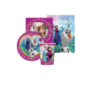 Frozen 40 piece Party Pack - - Cutlery, cups, bags, napkins